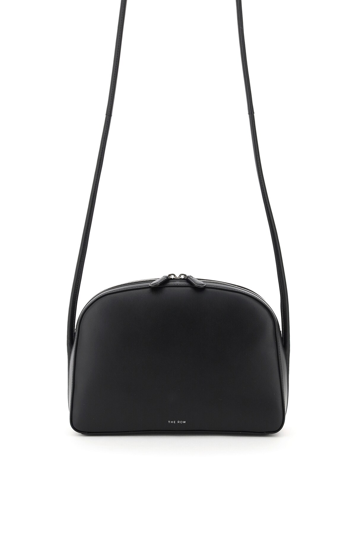 THE ROW SINGLE MIGNON SHOULDER BAG OS Black Leather