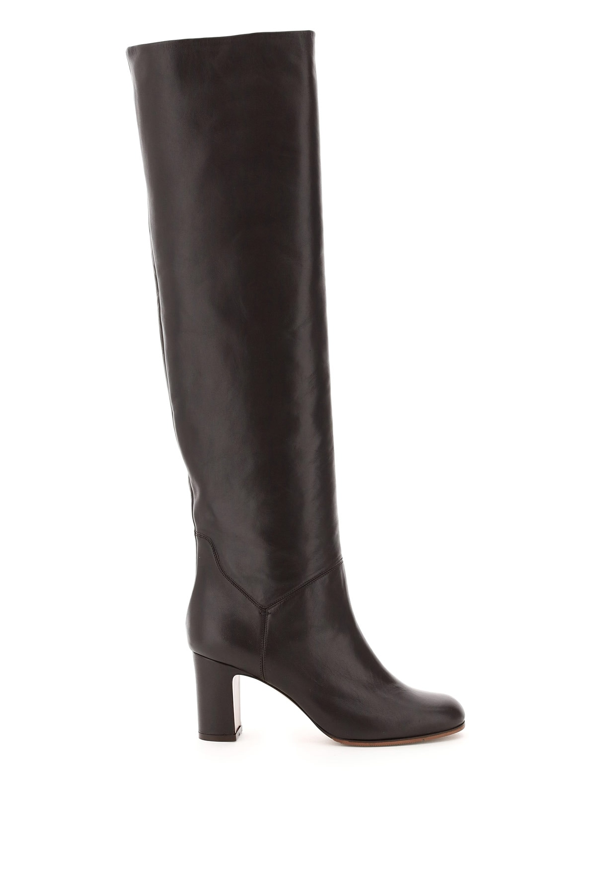 L'autre Chose High Nappa Boots 36 Brown Leather