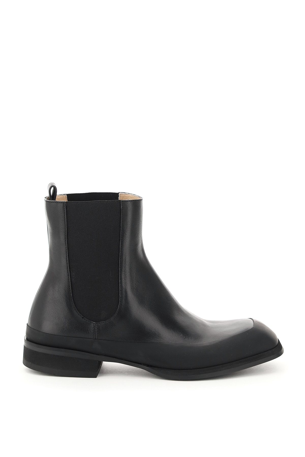 THE ROW GARDEN LEATHER BOOTS 39 Black Leather