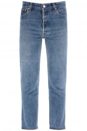 Re/done high rise jeans ankle crop x levi's