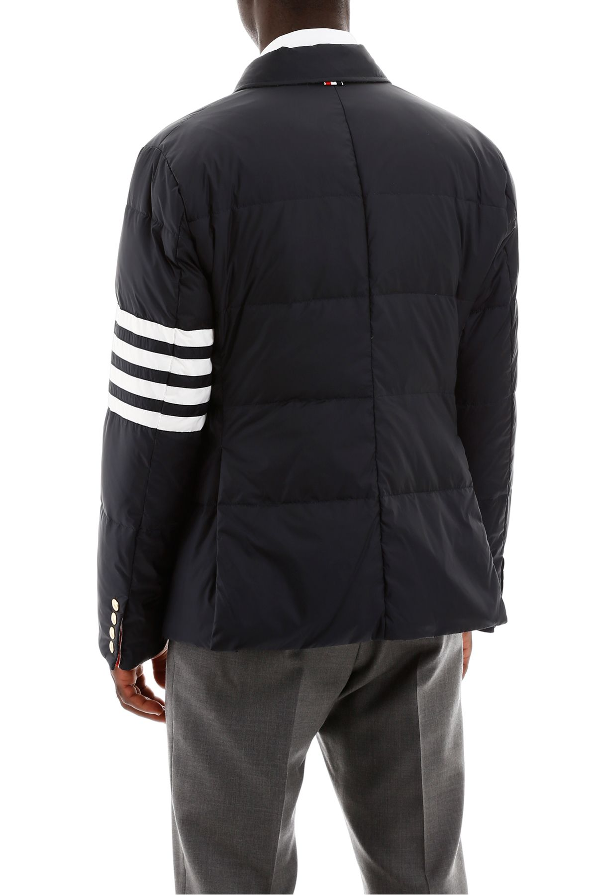 thom browne clothing men quilted blazer