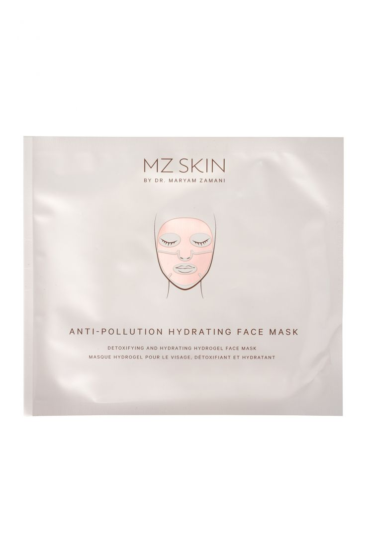 mz skin beauty anti pollution hydrating face mask