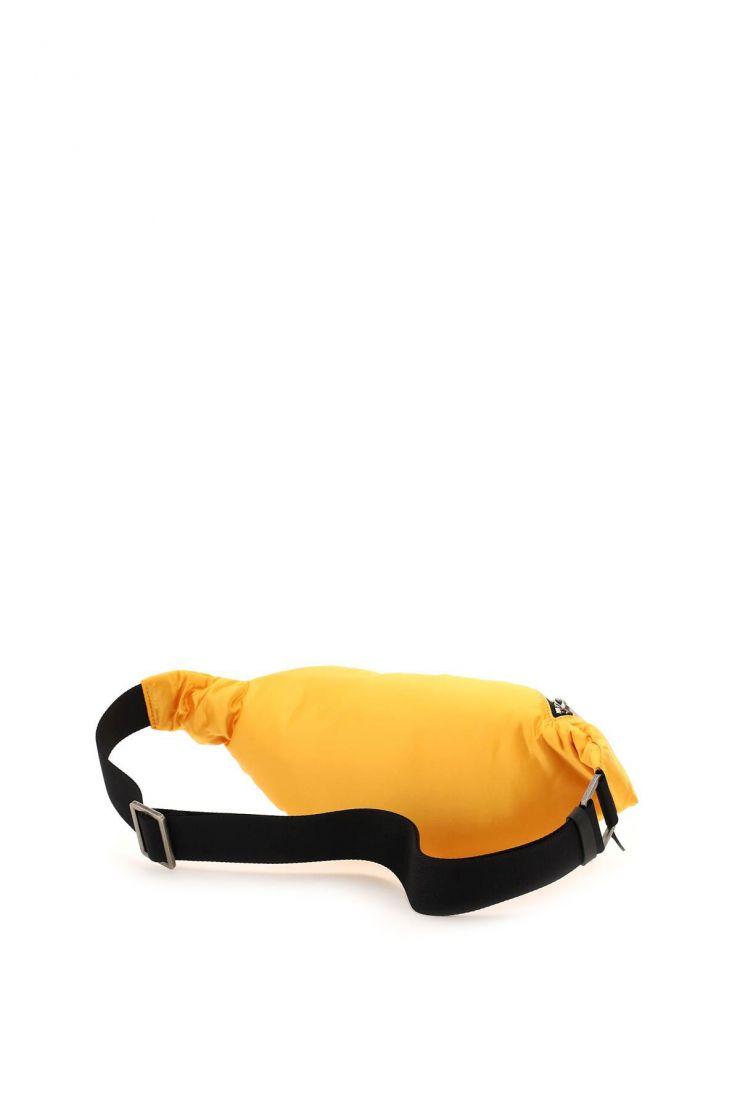 palm angels bags curved logo fanny pack