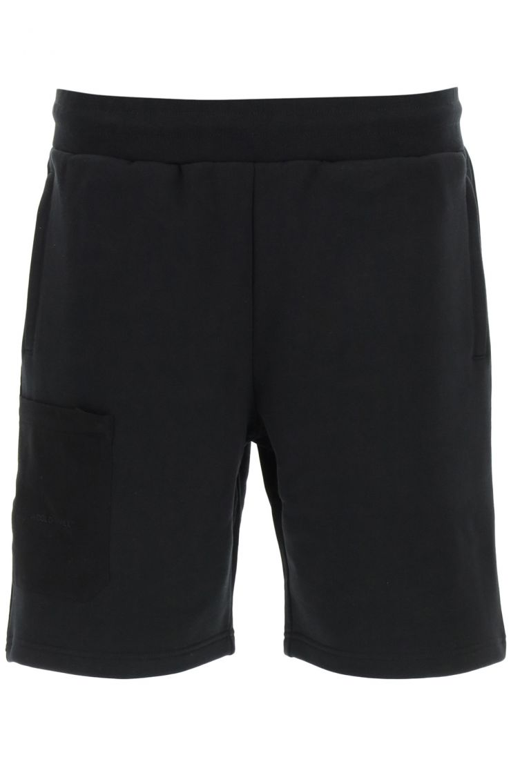 a cold wall activewear for life jogging shorts with logo patch