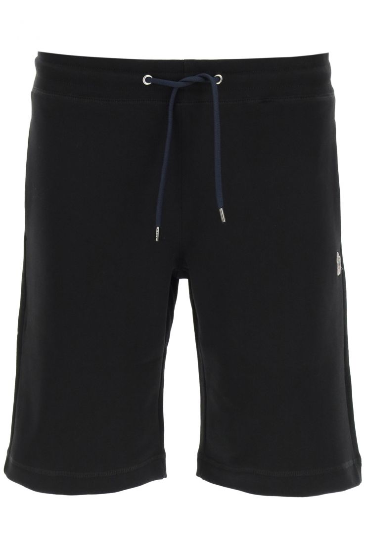 ps paul smith bermuda shorts jogger shorts with zebra patch