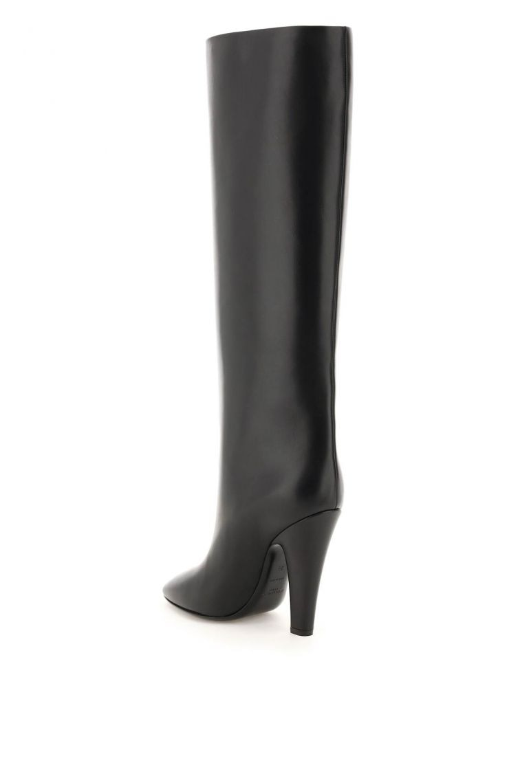 saint laurent boots and booties 68 tube leather boots