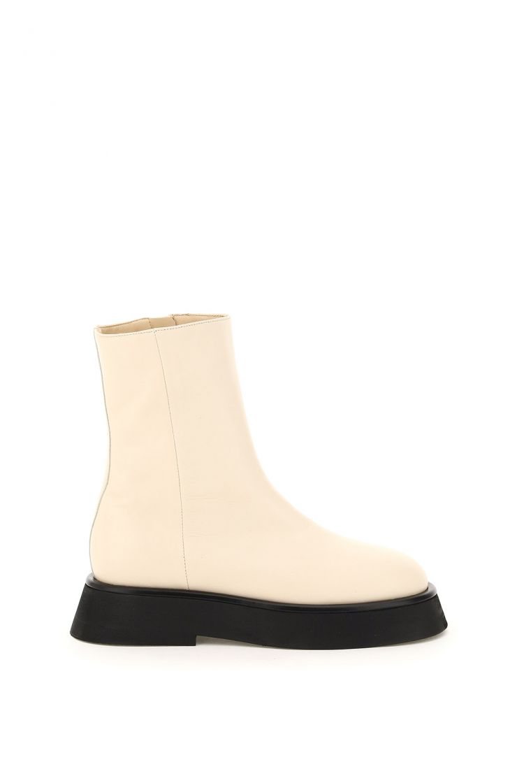 wandler the fall edit  rosa leather ankle boots