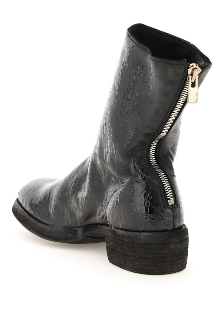 guidi boots wet-effect boots