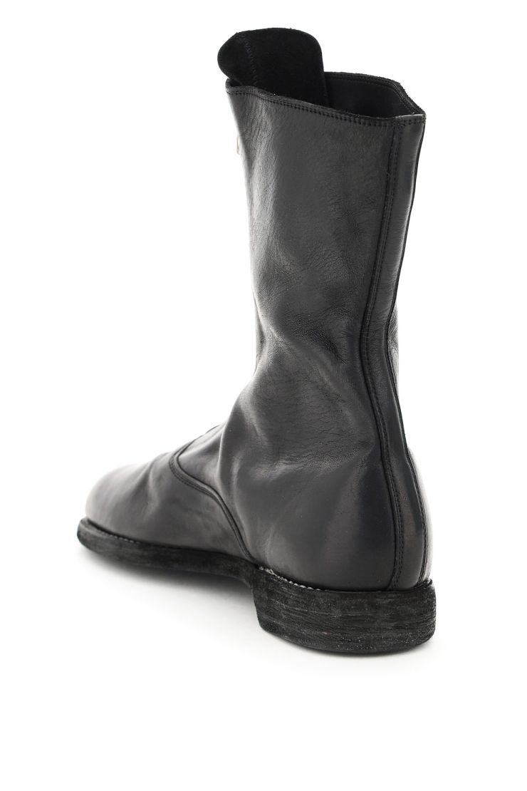 guidi bra774 front zip leather boots