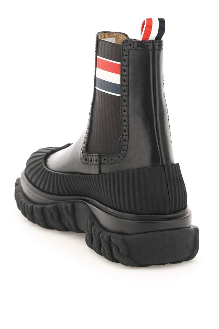 thom browne boots longwing duck chelsea boots