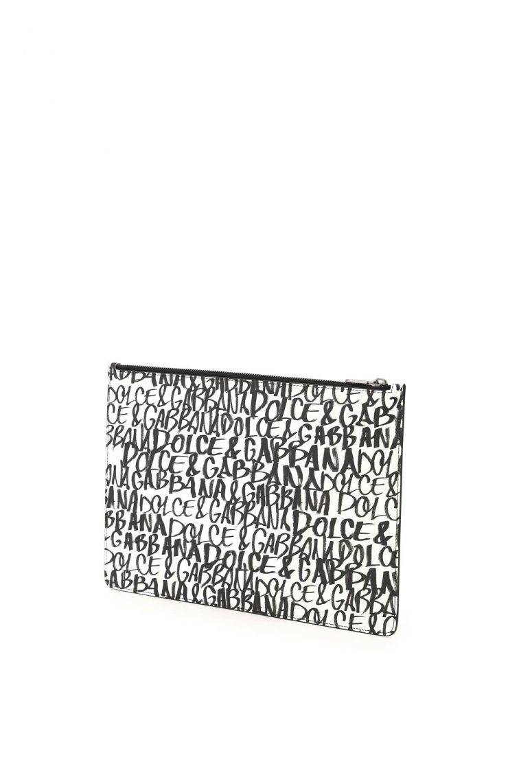 dolce & gabbana business and travel bags dg graffiti dauphine pouch