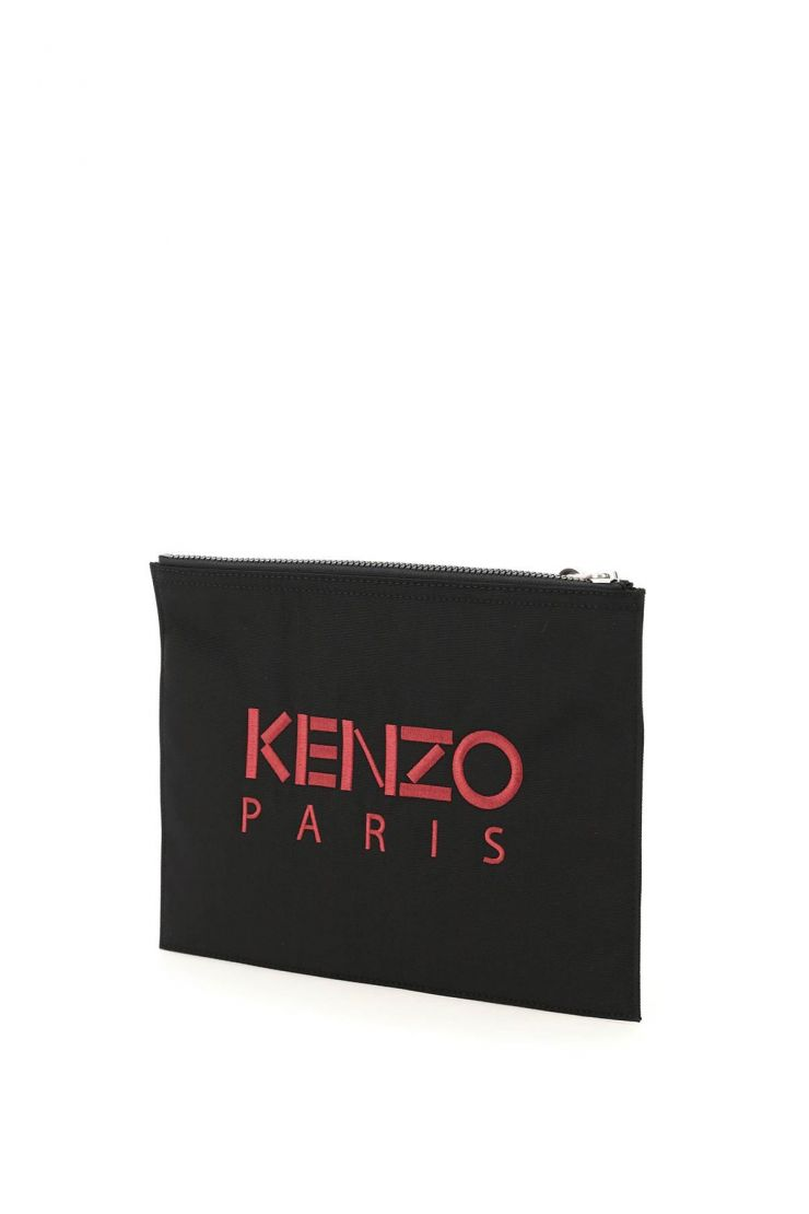 kenzo business and travel bags tiger large pouch