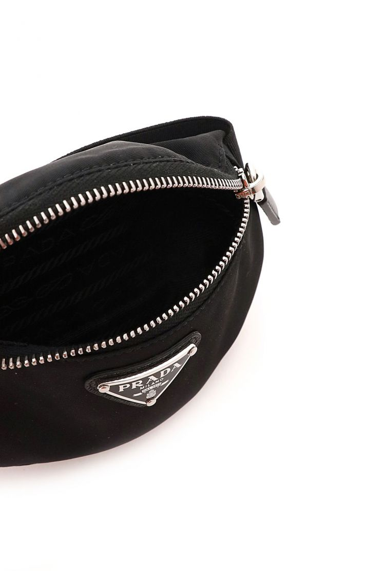 prada business and travel bags re-nylon mini pouch