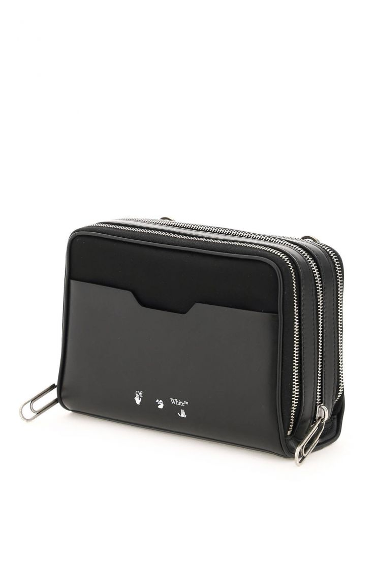 off-white bags nylon bag with industrial strap