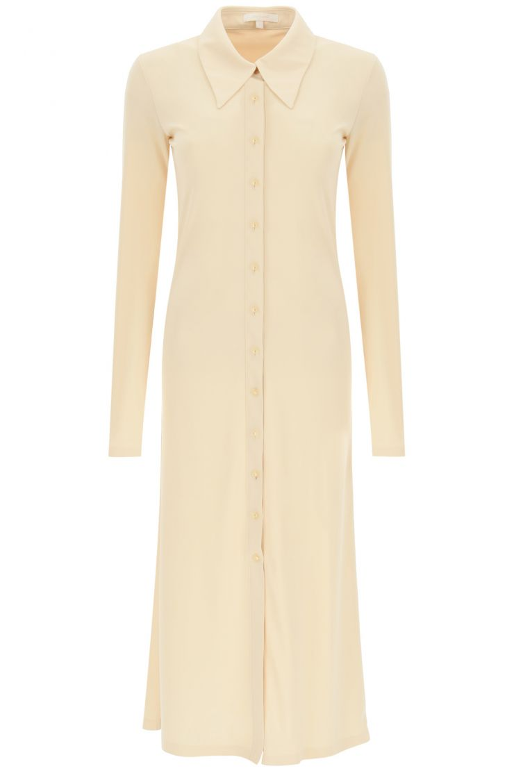 low classic comfy at home  abito midi in jersey