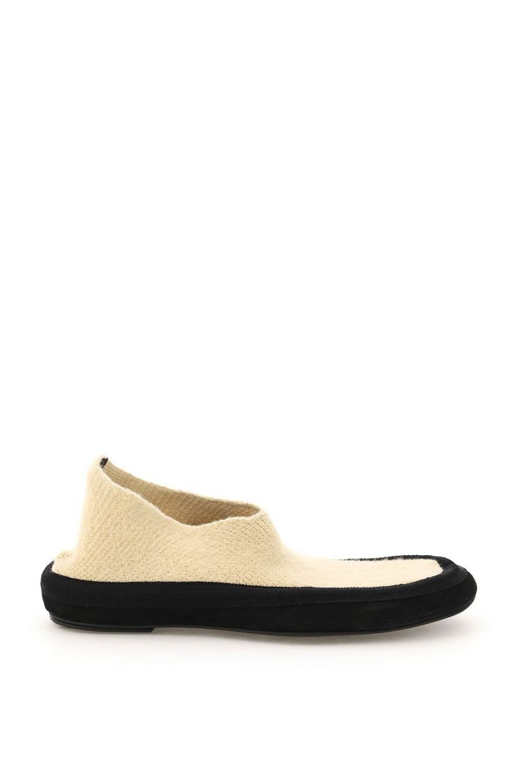 the row flats cashmere fairy shoes