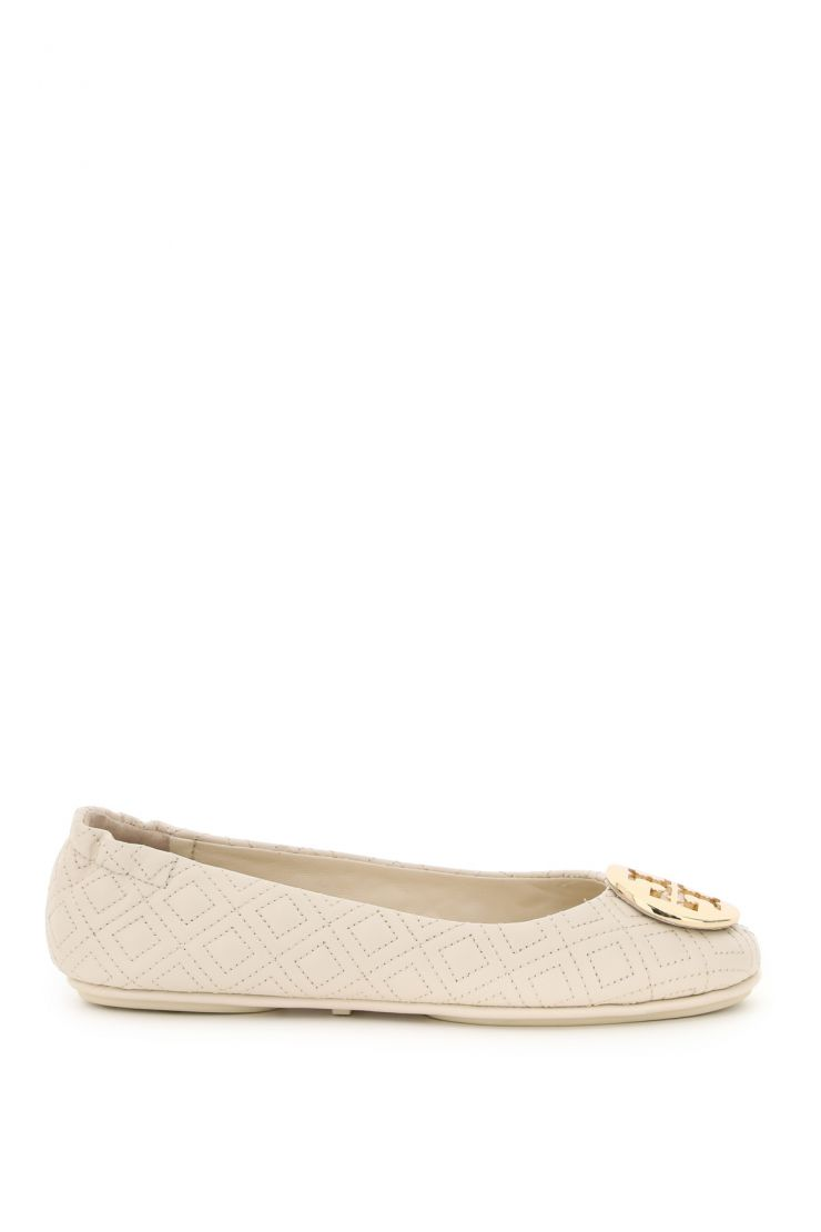 tory burch flats quilted minnie ballerinas