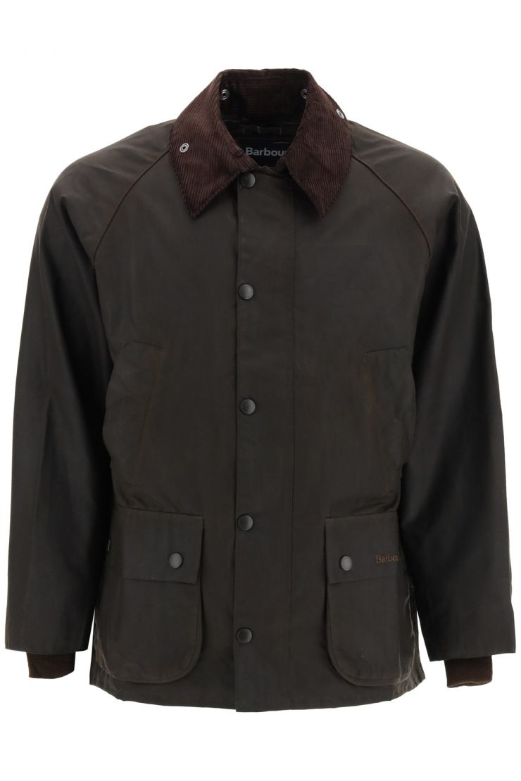 barbour bra873 classic bedal jacket in waxed cotton