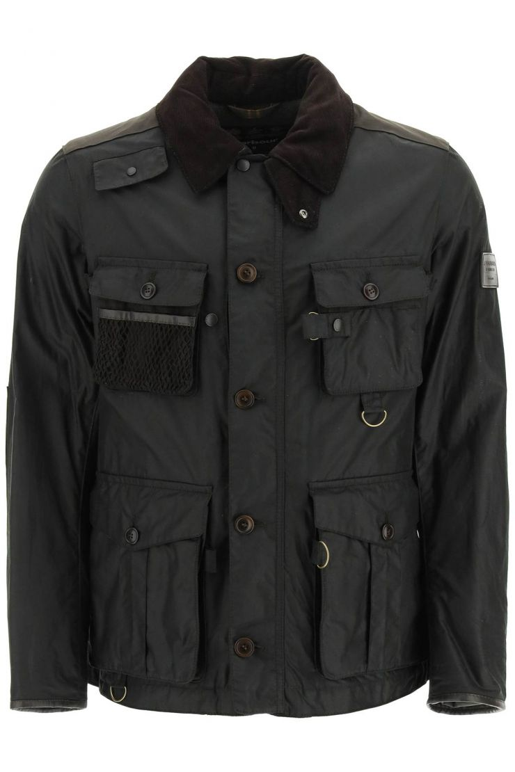 barbour gold standard bra374 supa-fissione waxed jacket