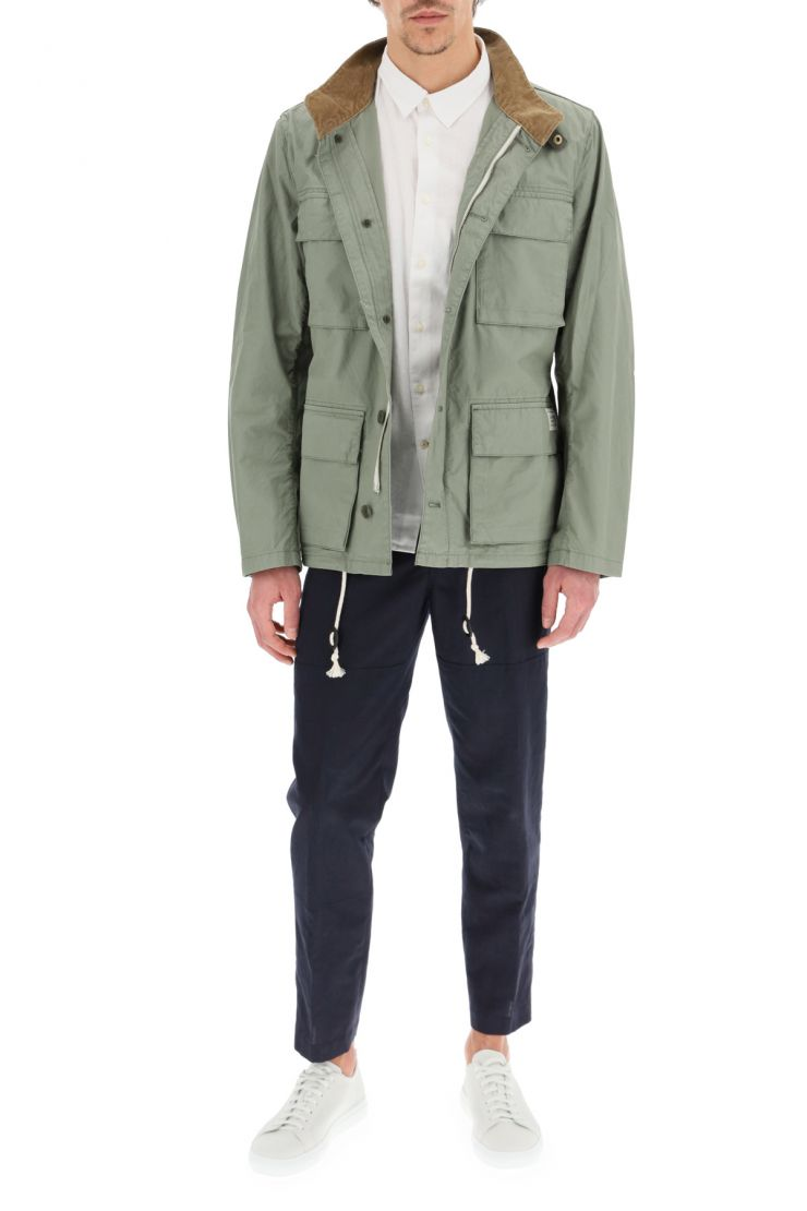 barbour bra873 flyn casual cotton jacket