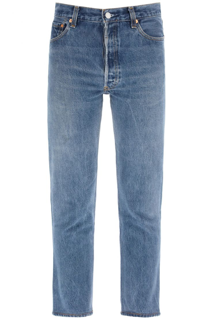 re/done what to wear high rise jeans ankle crop x levi's