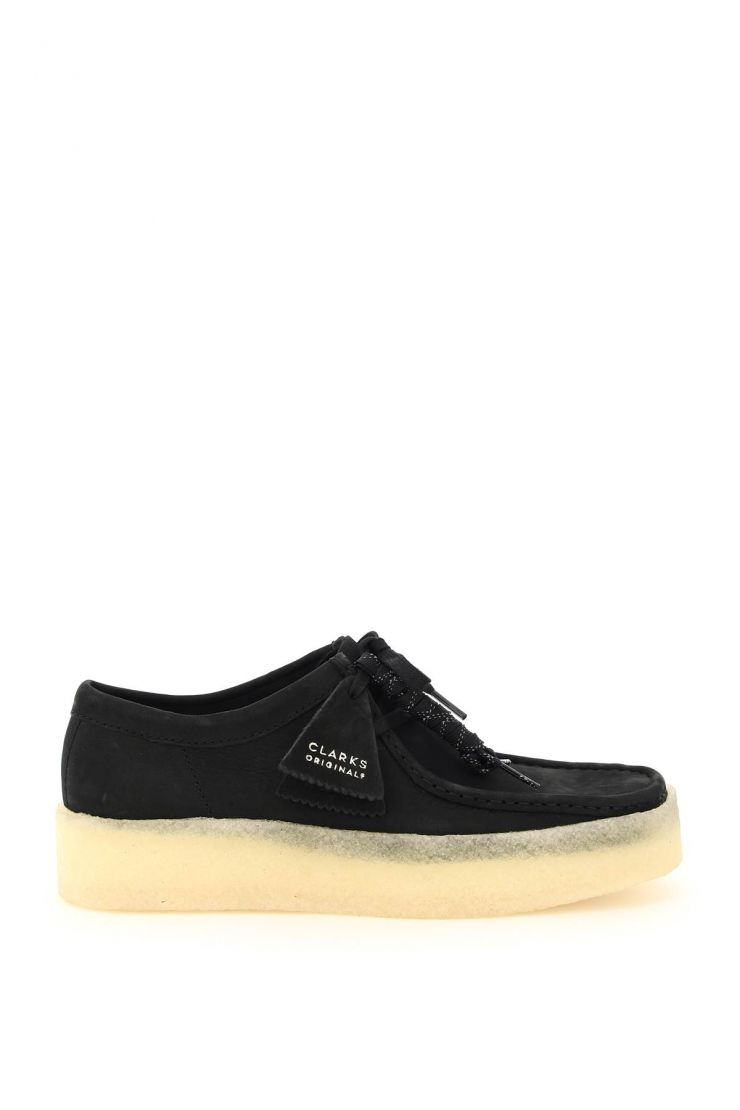 clarks bra252 wallabee cup lace-up shoes