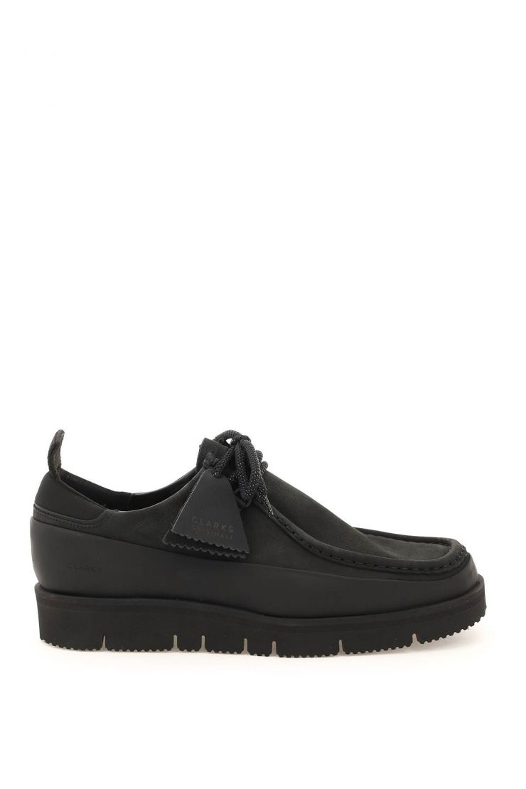 clarks bra252 wallabee hiker lace-up shoes