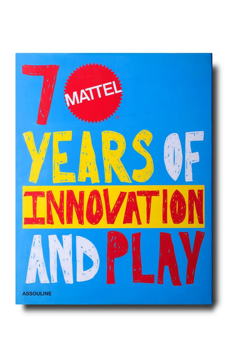assouline bra961 mattel 70 years of innovation and play