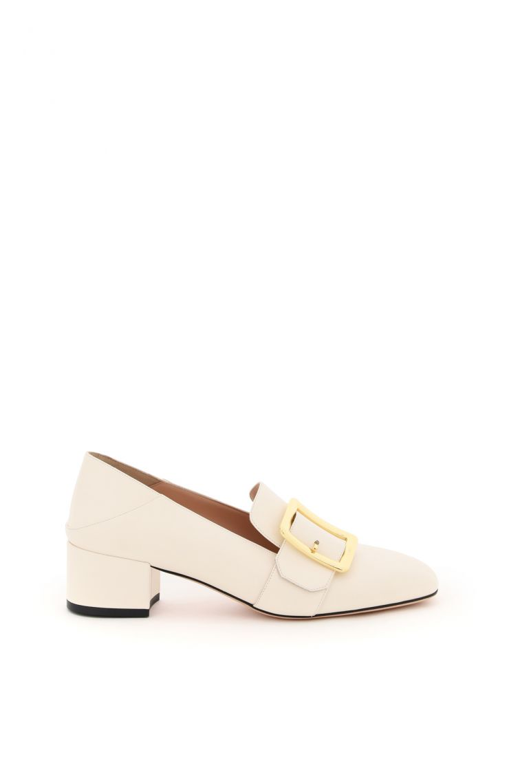 bally moccasins janelle leather loafers