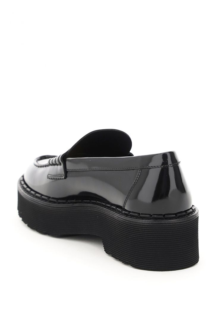 tod's moccasins patent leather loafers