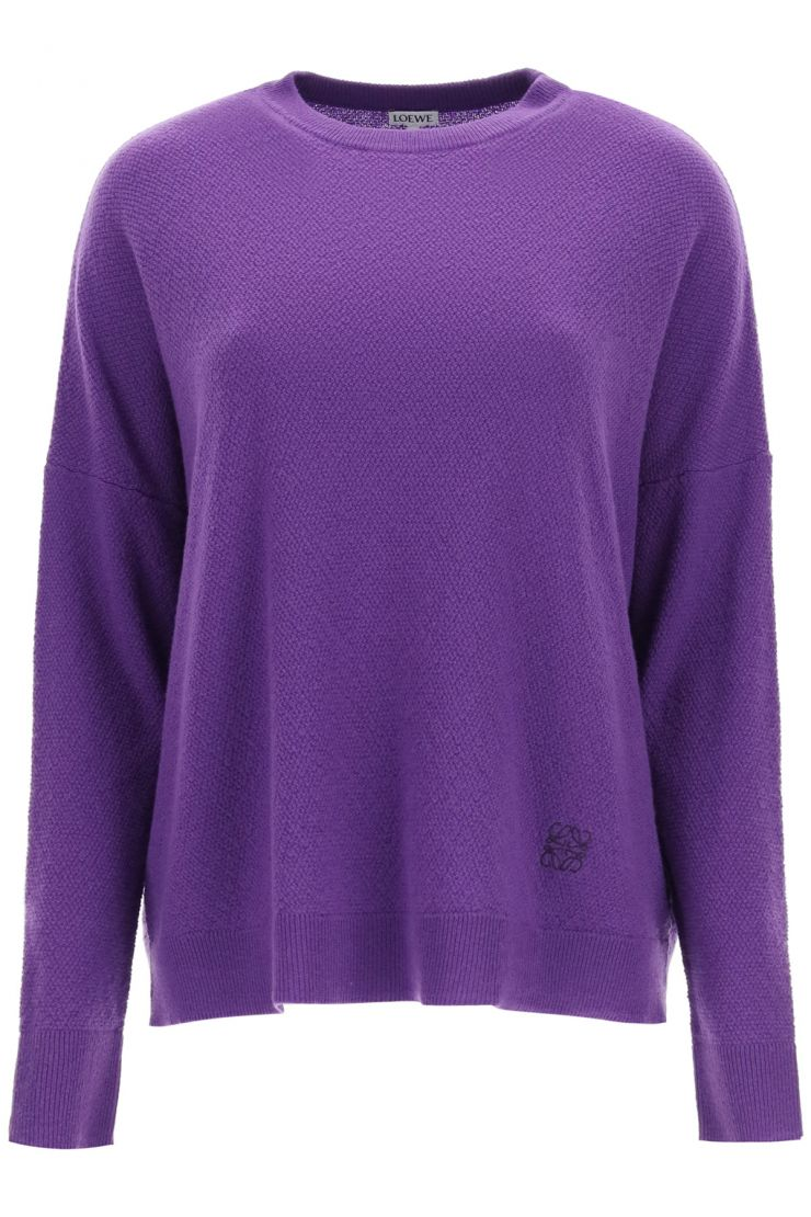 loewe pullovers oversized cashmere sweater
