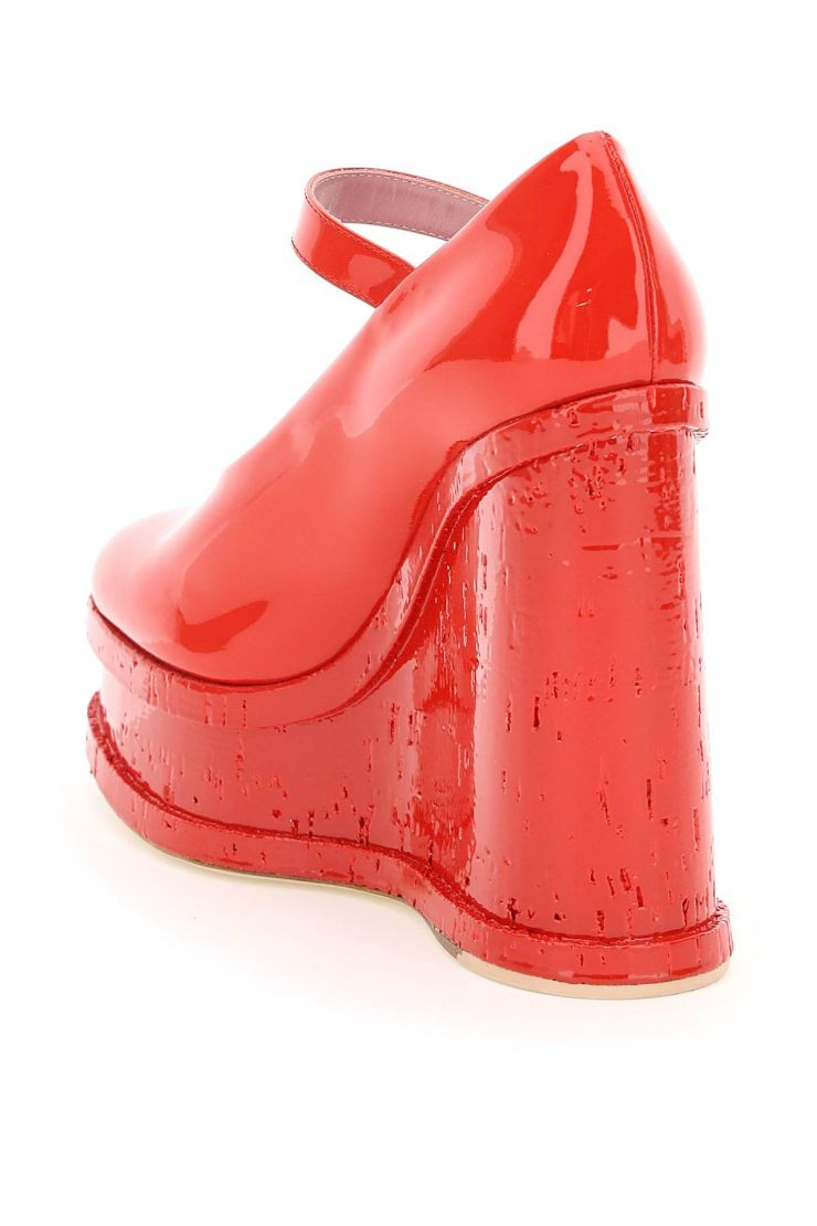 haus of honey pumps lacque doll wedge mary jane