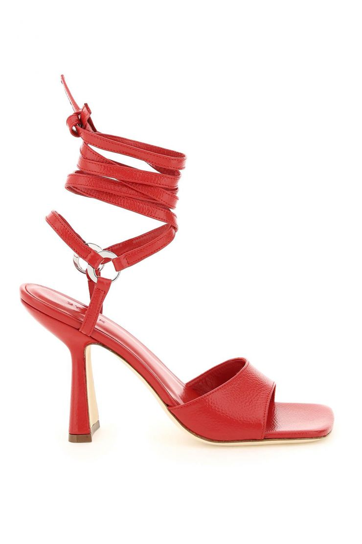 by far sandals fida leather sandals