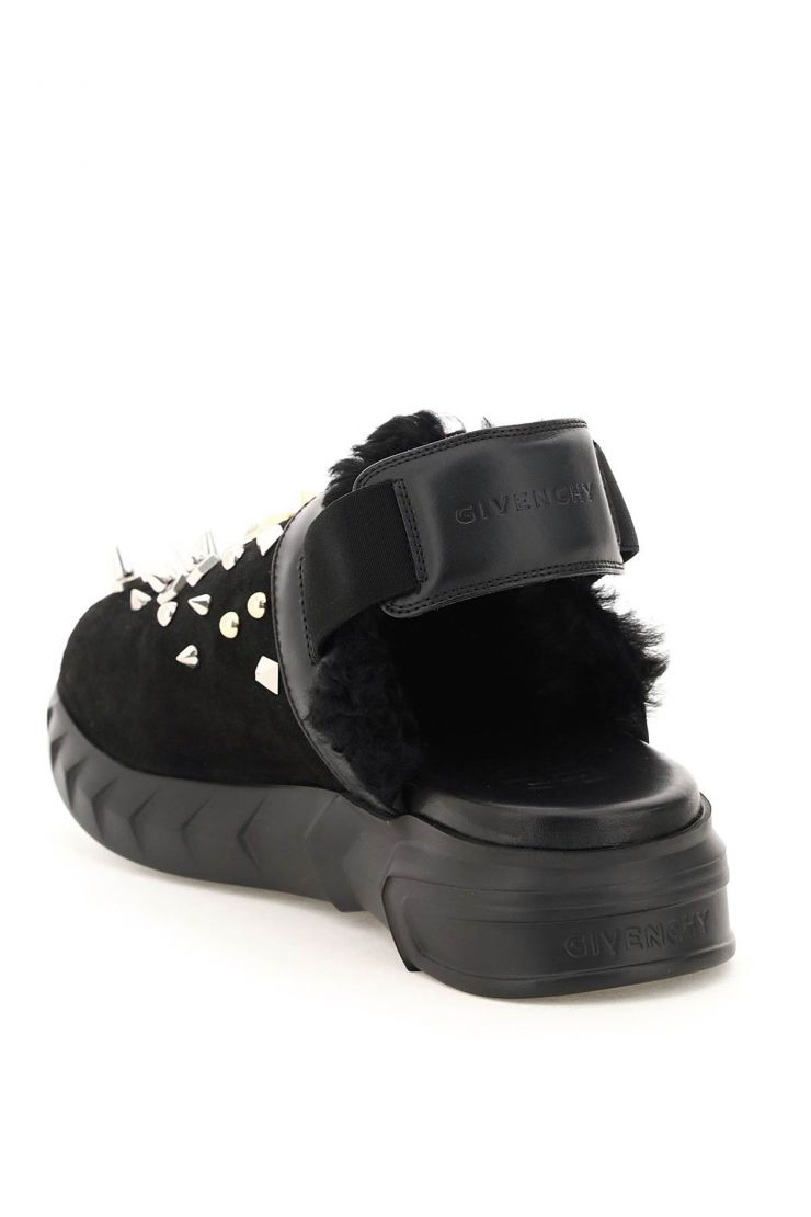 givenchy sandals marsmallow clog sandals with studs