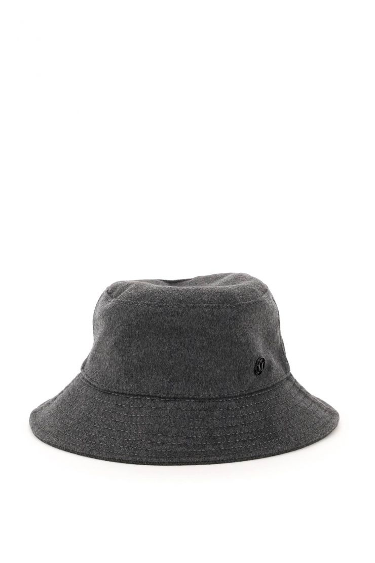 maison michel scarves, hats and gloves cashmere angele bucket hat