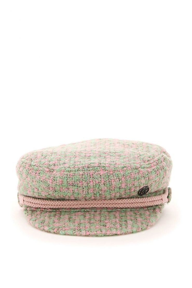 maison michel scarves, hats and gloves new abby tweed sailor cap
