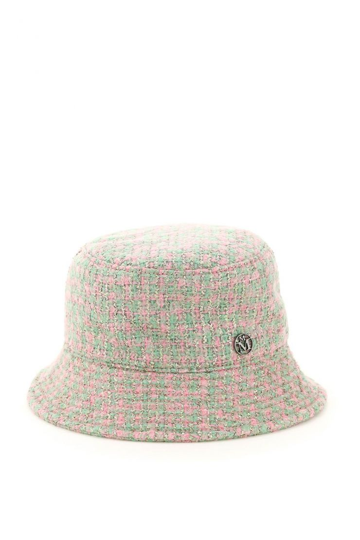 maison michel scarves, hats and gloves jason tweed bucket hat