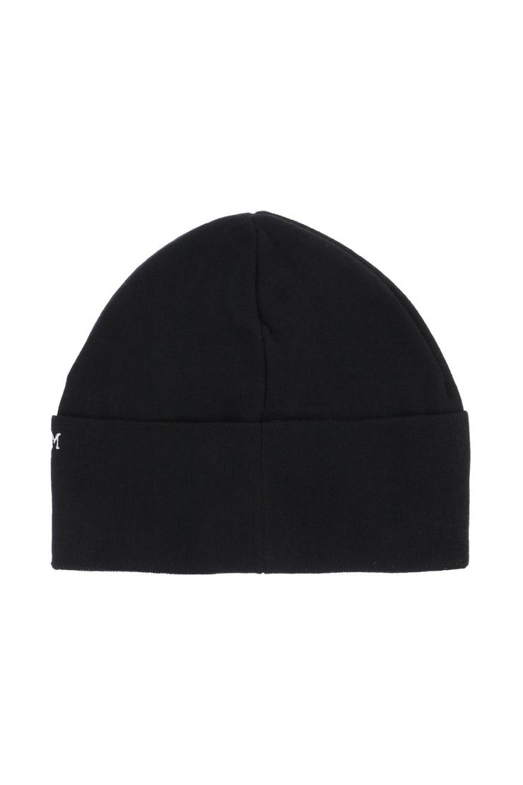 off-white scarves, hats and gloves beanie cap with logo