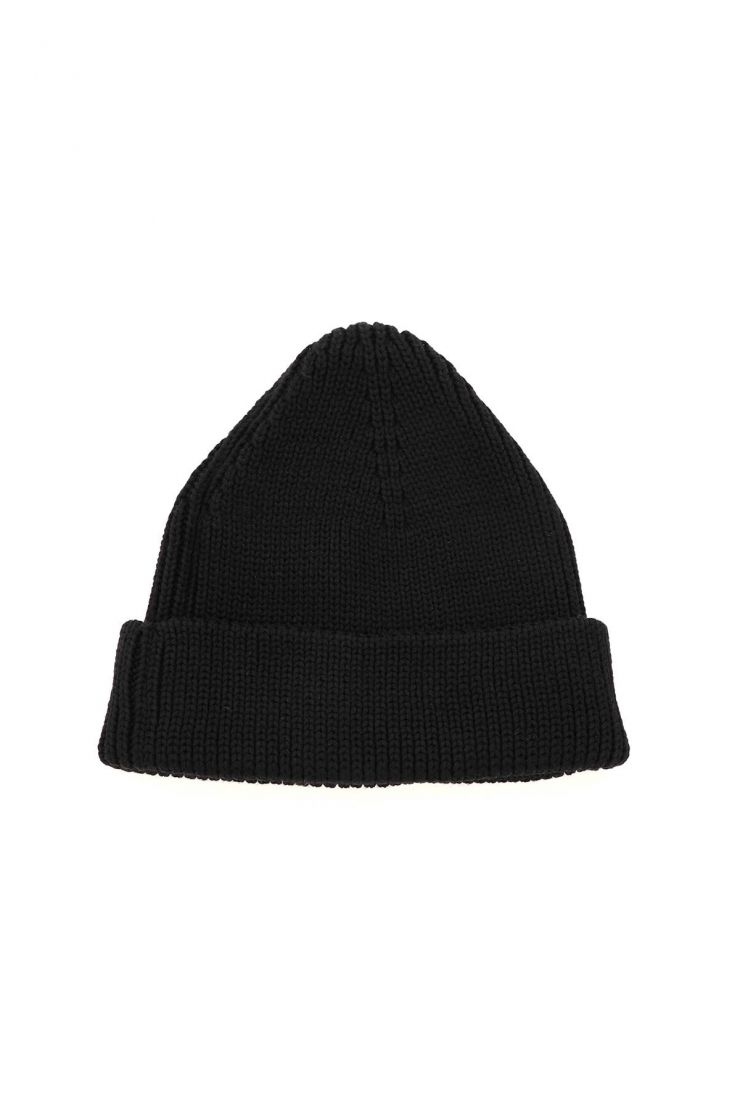 off-white scarves, hats and gloves hand off wool beanie hat
