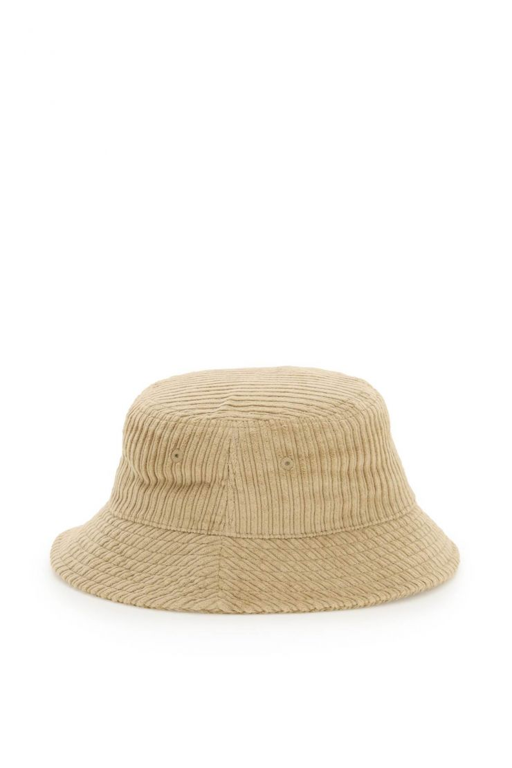 stussy scarves, hats and gloves corduroy bucket hat
