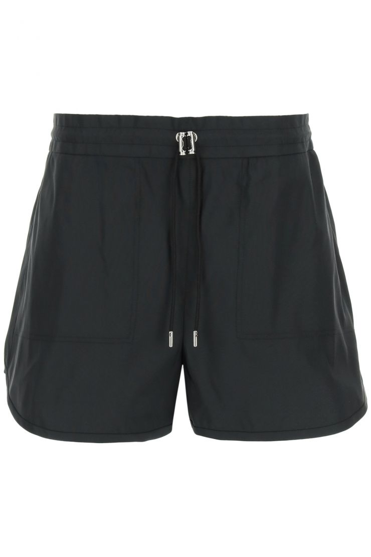 alexander mcqueen fashionable fitness  exploded faille shorts