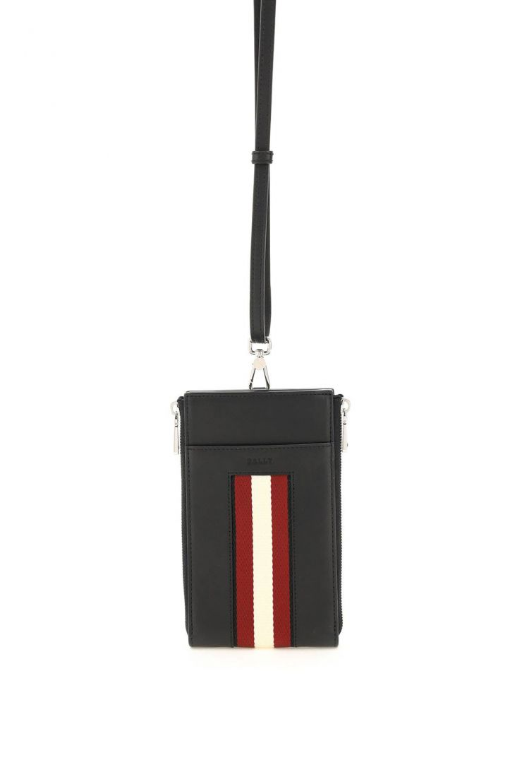 bally small leather goods leather smartphone holder