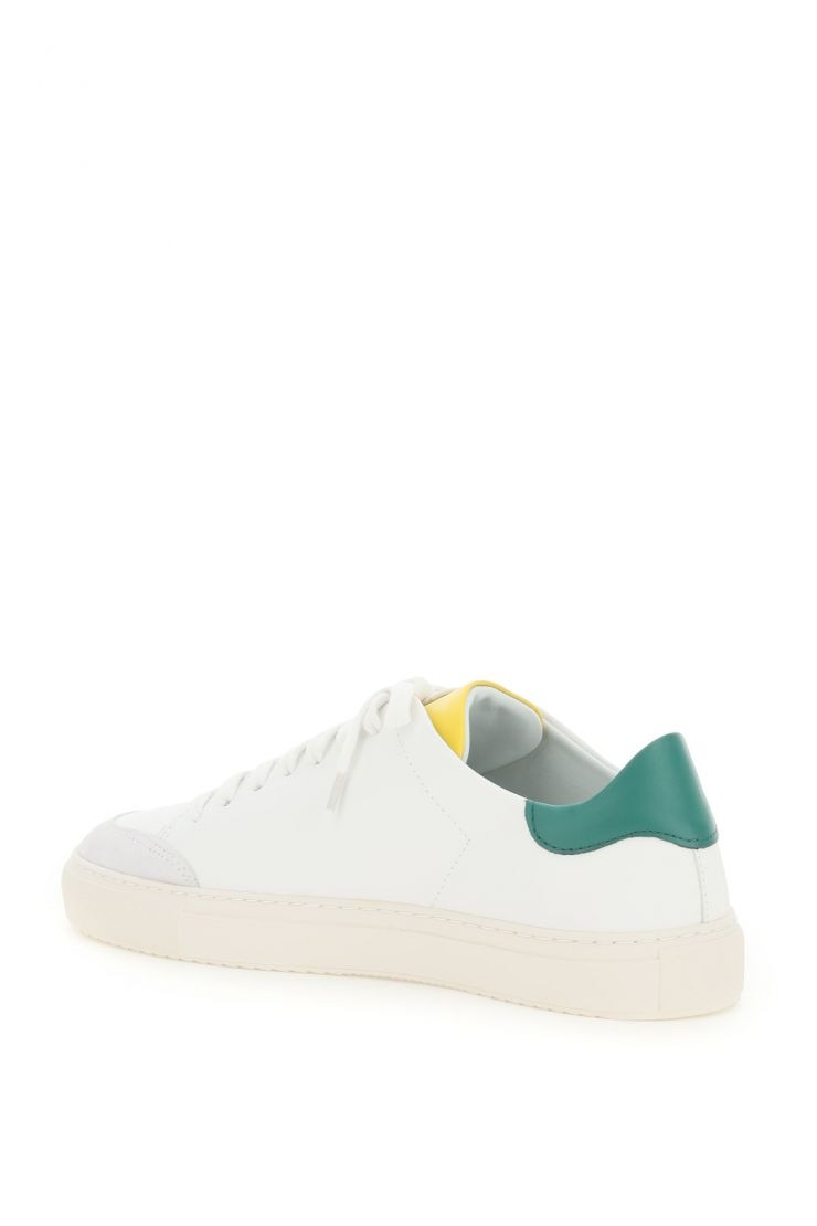 axel arigato activewear for life clean 90 contrast sneakers