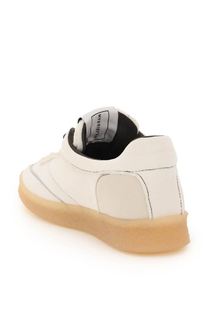 mm6 maison margiela sneakers 6 court inside-out sneakers
