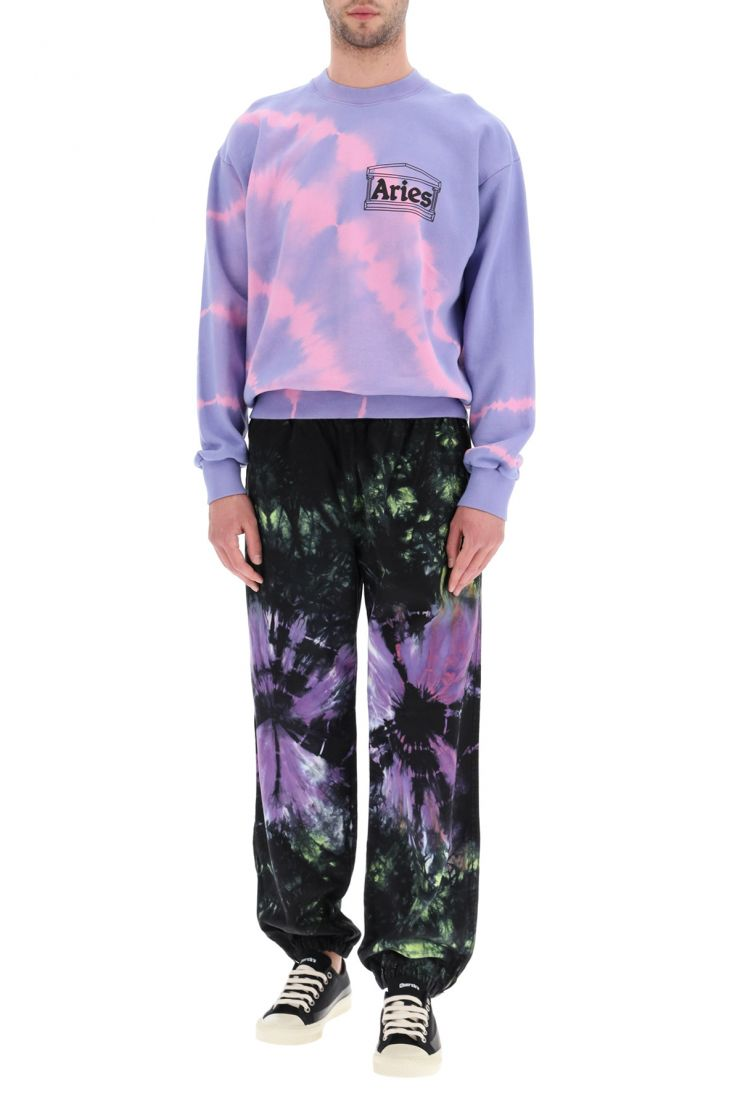 aries activewear for life tie-dye shorts