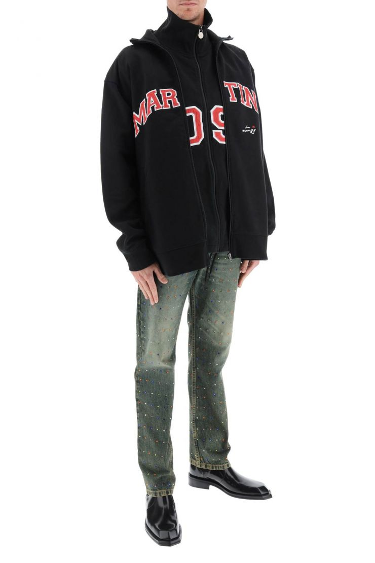 martine rose sweaters two in one track jacket