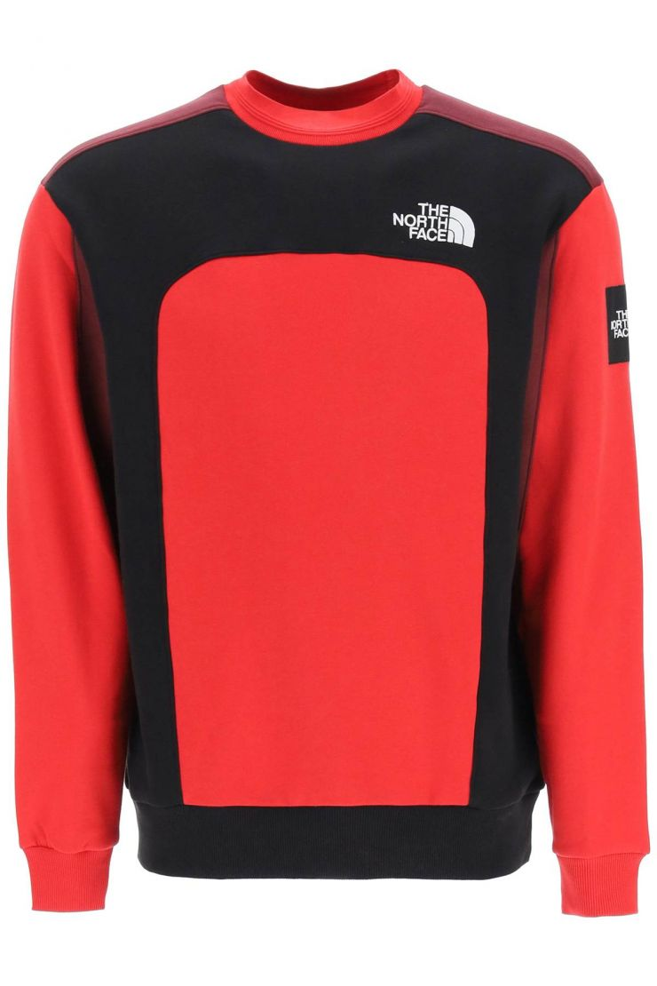 the north face sweaters mtn archive cut & sew sweatshirt