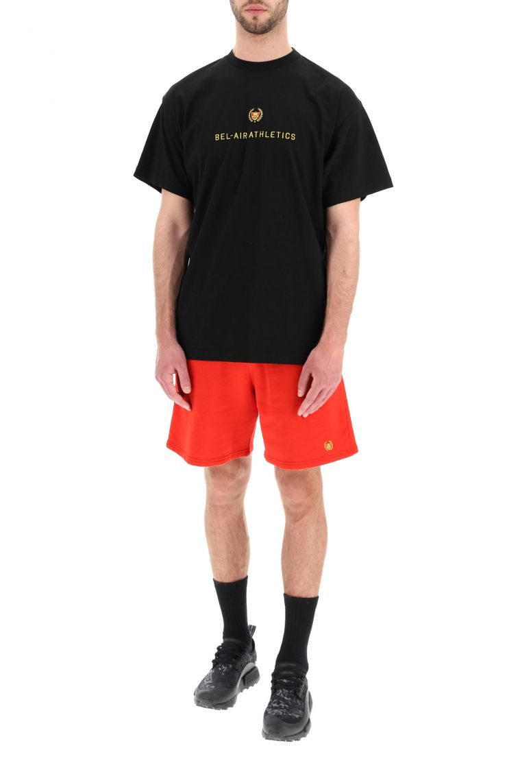 bel-air athletics activewear for life academy crest t-shirt