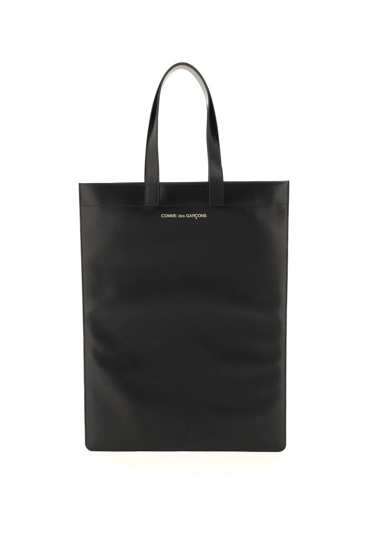 comme des garcons wallet tote bags leather tote bag