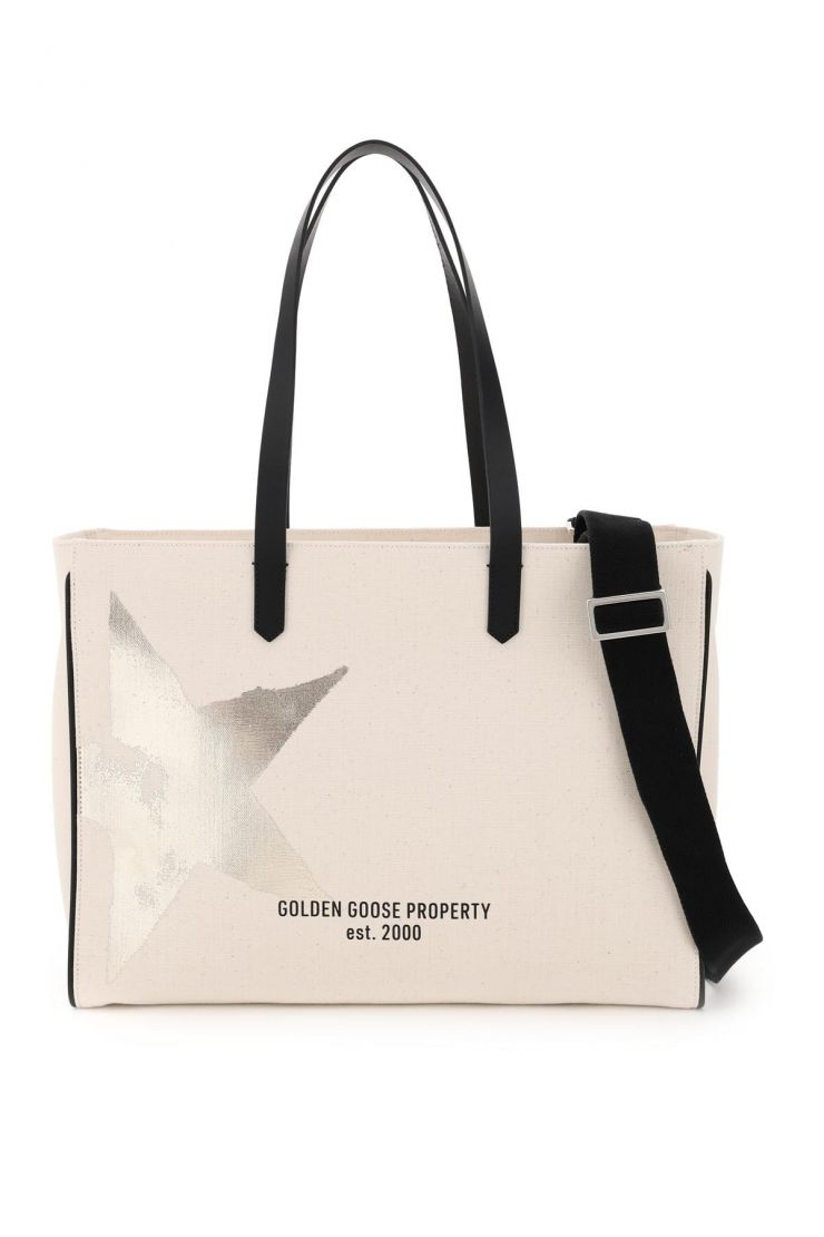 golden goose tote bags california east-west shopping bag